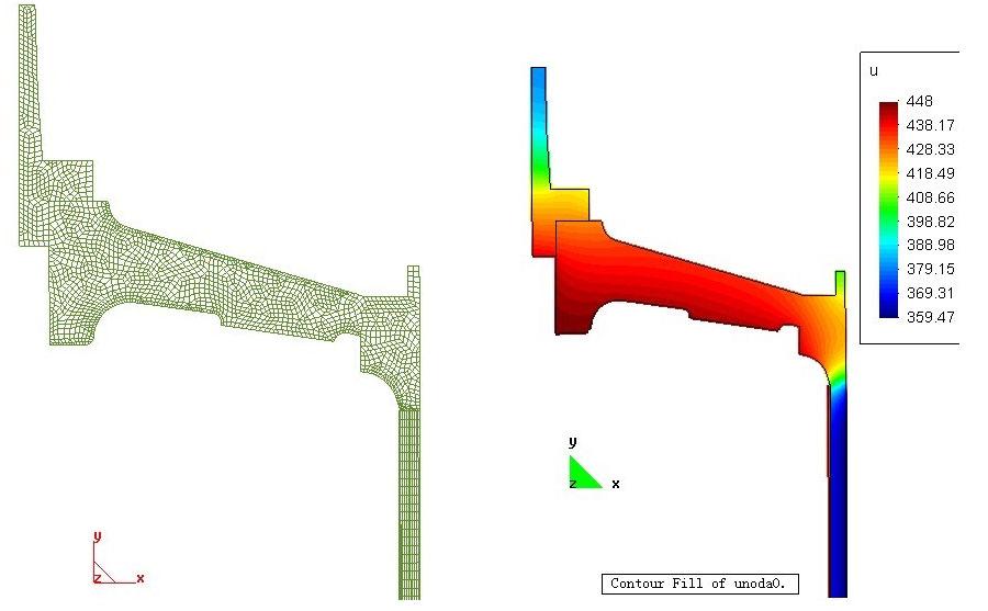 器件加工制备过程热应力分析,电子行业数值模拟解决方案