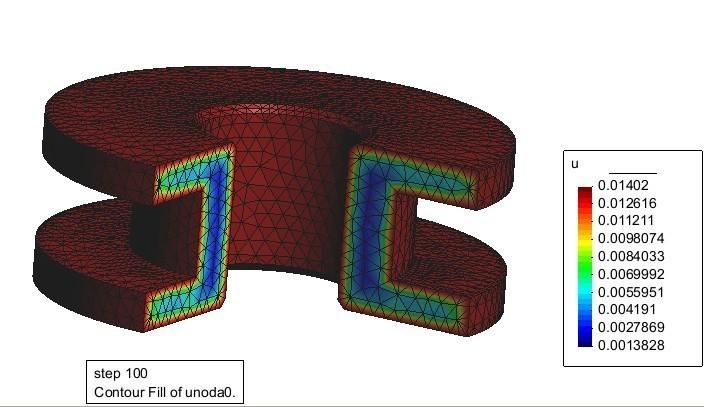 材料扩散过程模拟,电子行业数值模拟解决方案