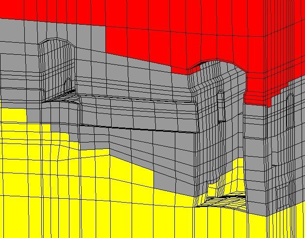 开挖结束厂房变形示意图,岩石与地下工程数值模拟解决方案