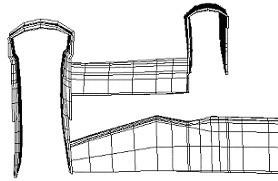 开挖结束衬砌变形示意图,岩石与地下工程数值模拟解决方案