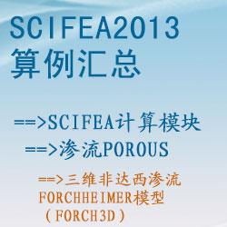 渗流porous的三维非达西渗流Forchheimer模型(Forch3d)【SciFEA2013算例】