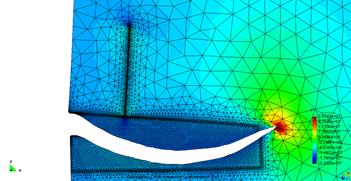 图5 节理与X轴正向呈90°角时压裂裂缝扩展过程